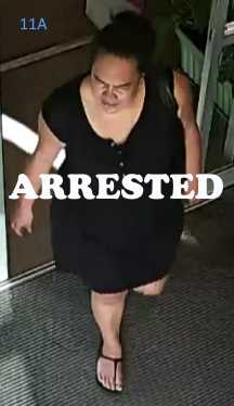 theft suspect 11A Christchurch (arrested)