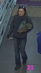 person 21 wanted for theft